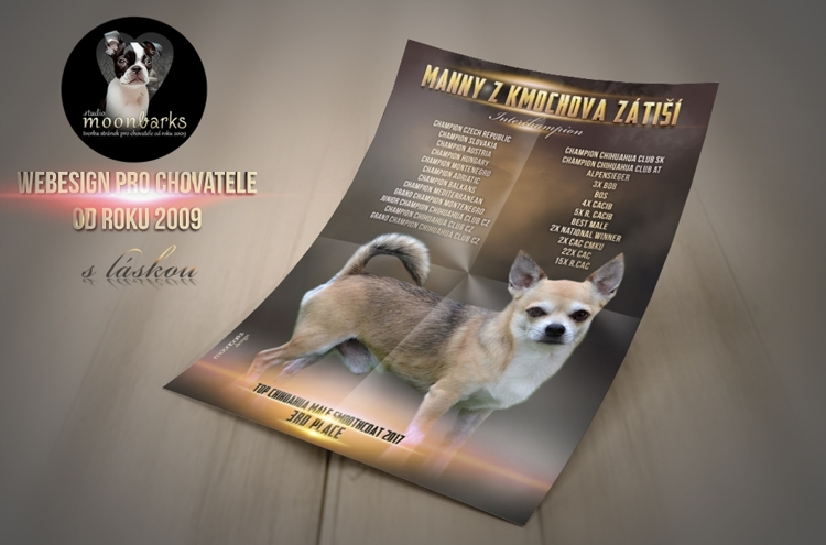 Litter Announcement - kennel mating flyer